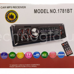 Автомагнитола 1DIN MP3 1781BT (1USB, 2USB-зарядка, TF card, bluetooth) (20)